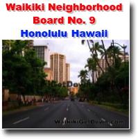 Waikiki Neighborhood Board No. 9 - Honolulu Hawaii