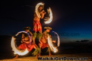 Free torch lighting and Hula Show at the Waikiki Kuhio Beach Park, Tuesdays, Thursdays and Saturdays
