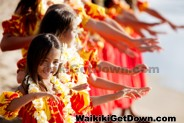 Free Waikiki entertainment by the beach. Enjoy live entertainment, Hula Show and Torch Lighting at Kuhio Beach Park